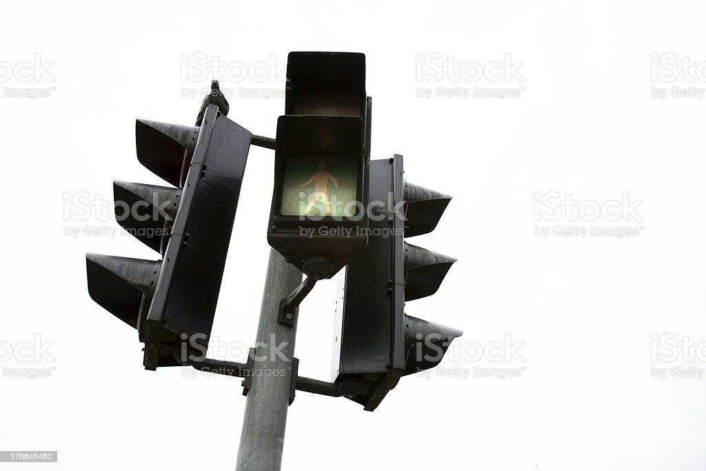 green light for walk royalty-free stock photo