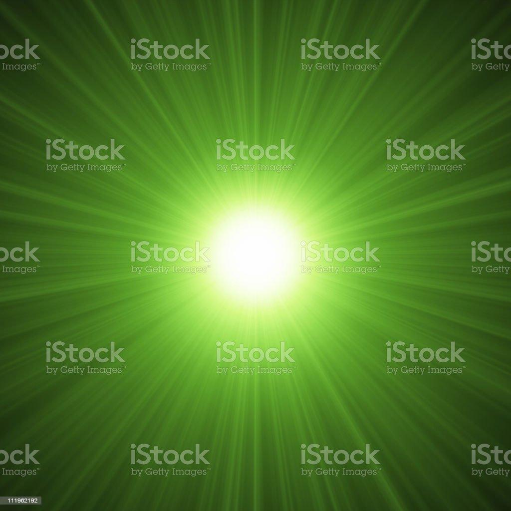 Green Light! stock photo