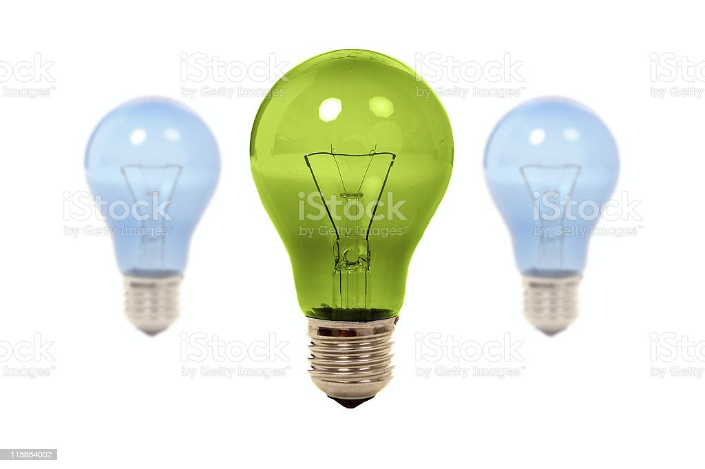 Green light royalty-free stock photo