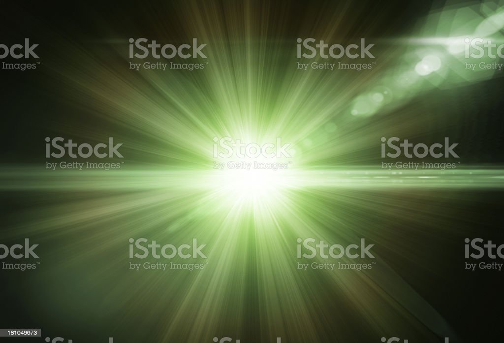 Green Light royalty-free stock photo
