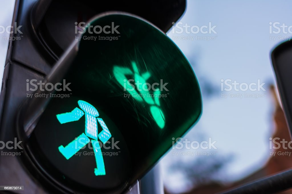 Green light, you can go. stock photo