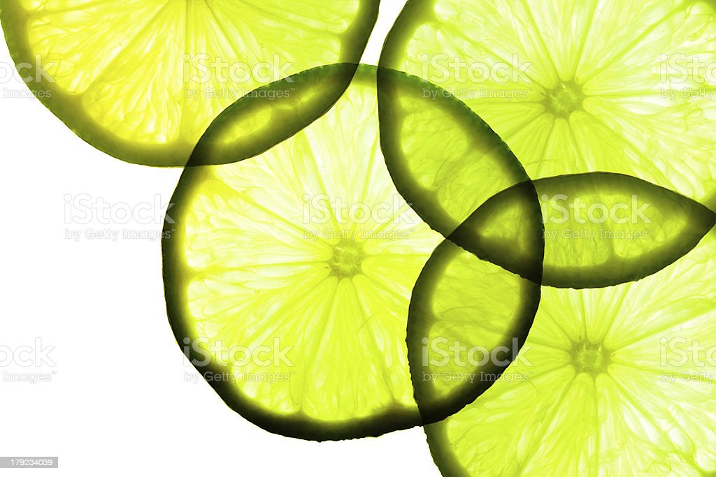 Green lime. royalty-free stock photo
