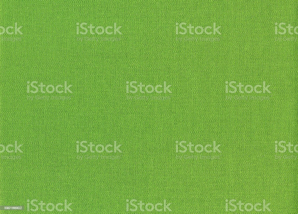 Green linen cloth texture background stock photo