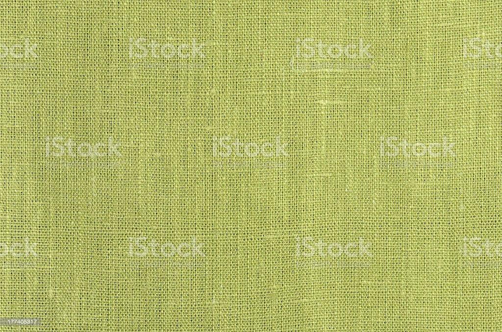 green linen texture background stock photo