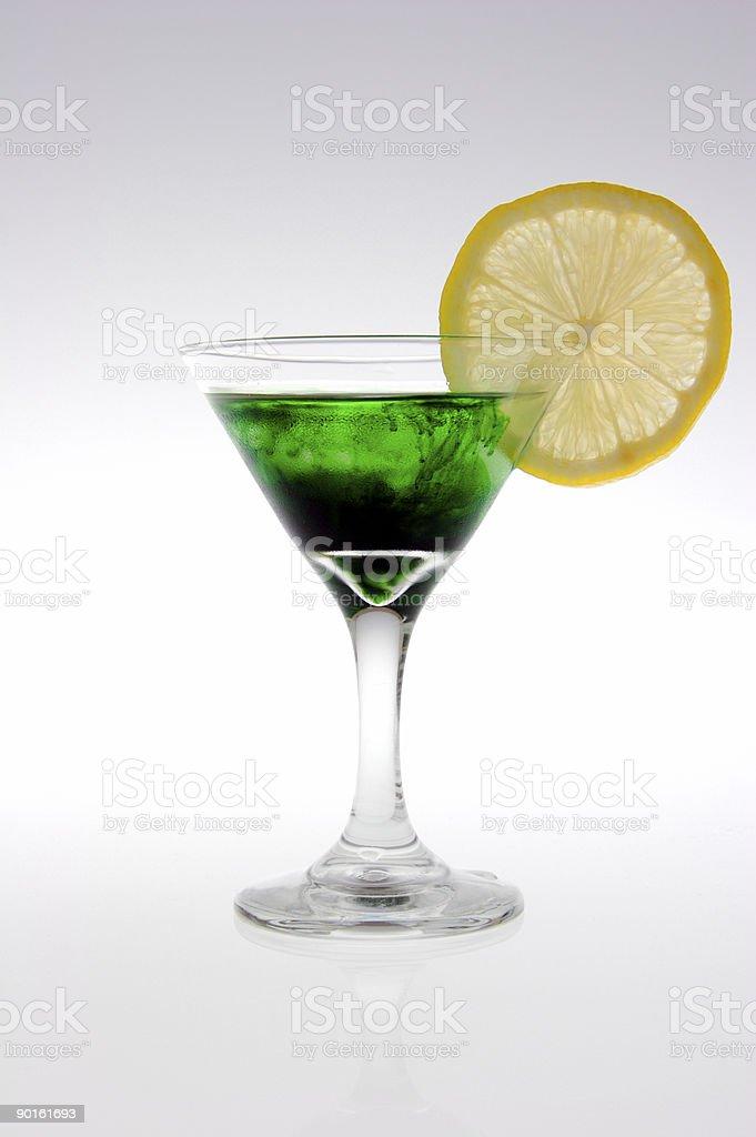 Green-Likör Lizenzfreies stock-foto