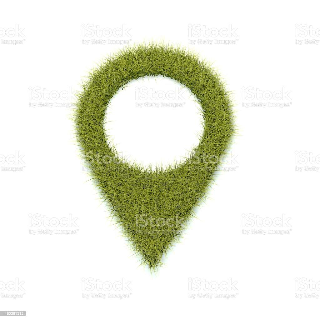 Green location stock photo