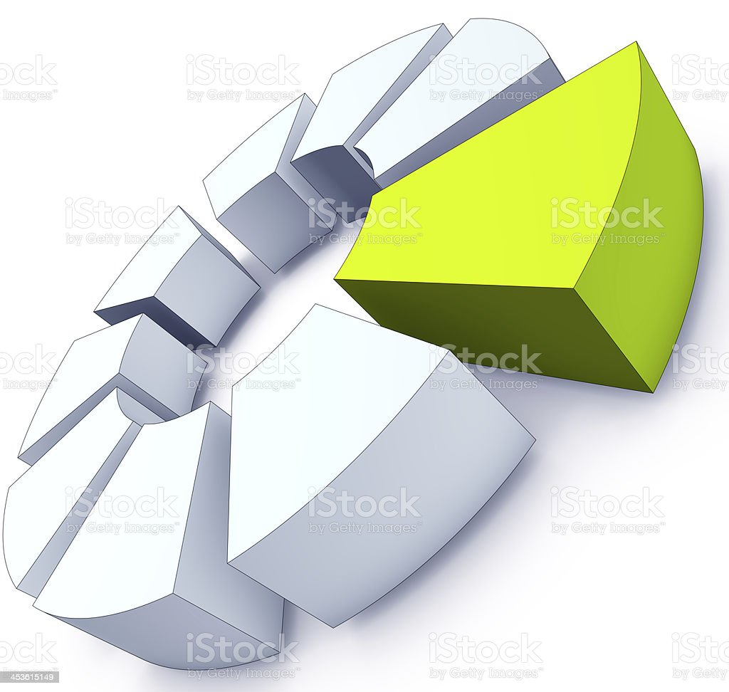 green logo stock photo