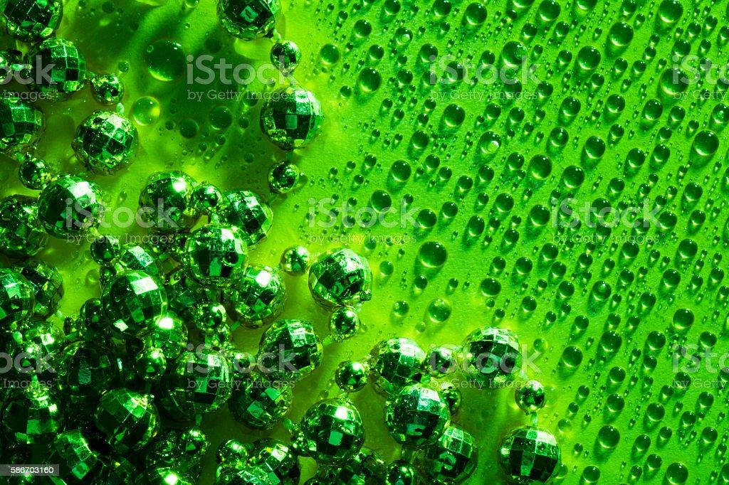 green luxury jewel stock photo
