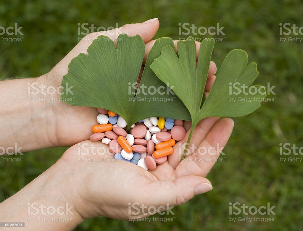 green medicine royalty-free stock photo