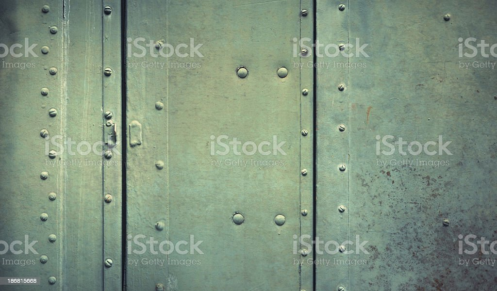 green metal plate royalty-free stock photo