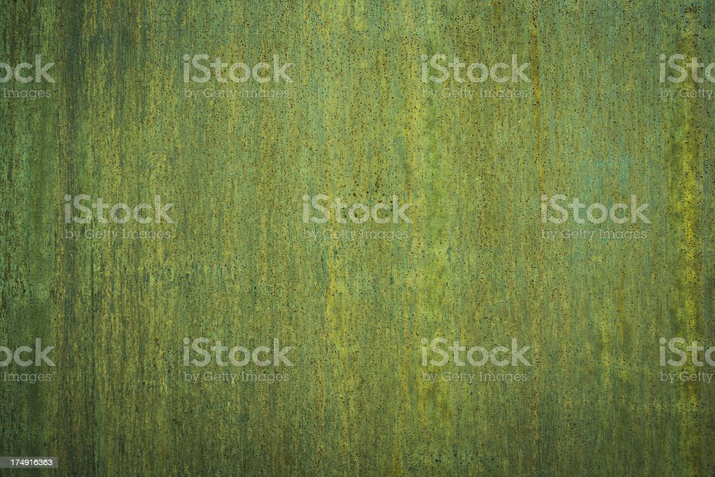 Green metal rusty texture royalty-free stock photo
