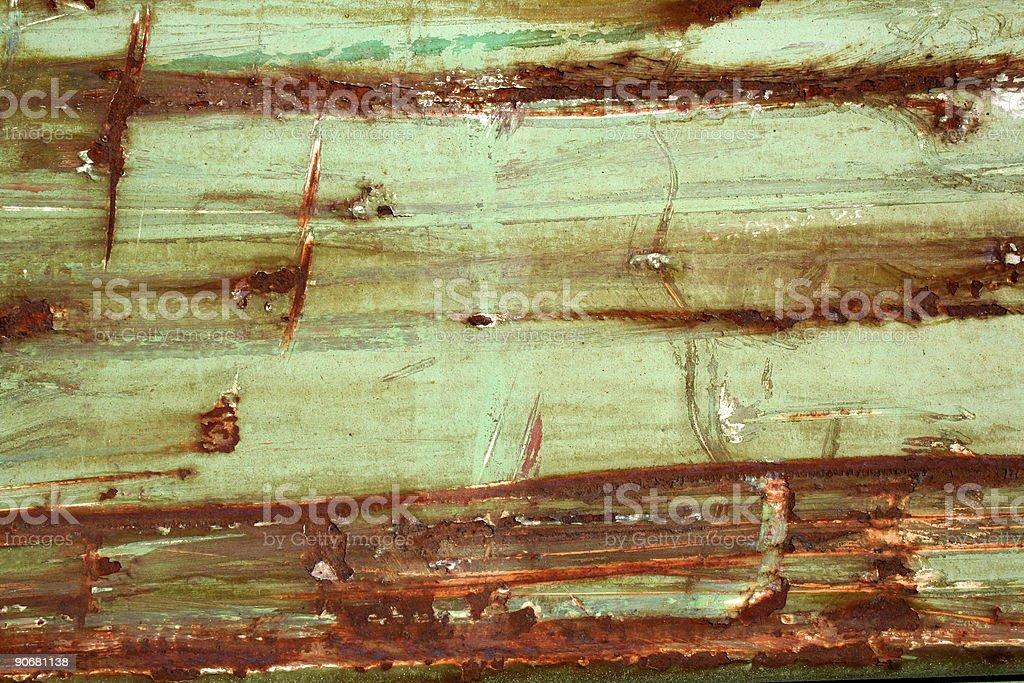 Green metal texture royalty-free stock photo