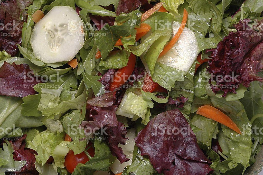 Green Mixed Salad royalty-free stock photo