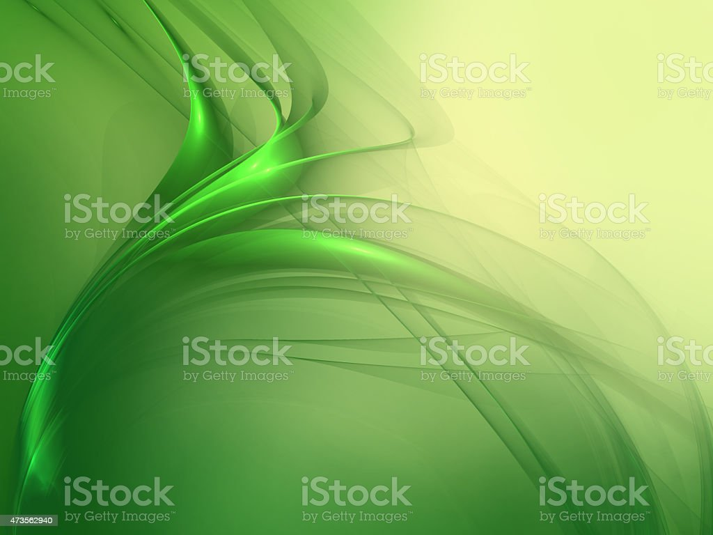 Green Modern Art  Abstract Background stock photo