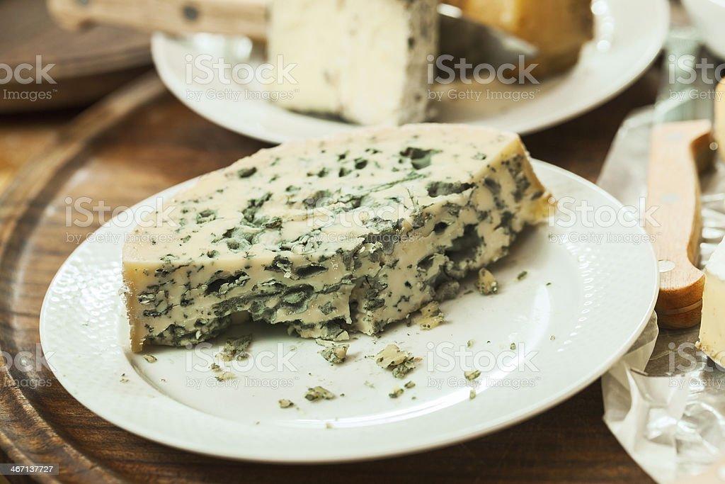 Green mold cheese royalty-free stock photo