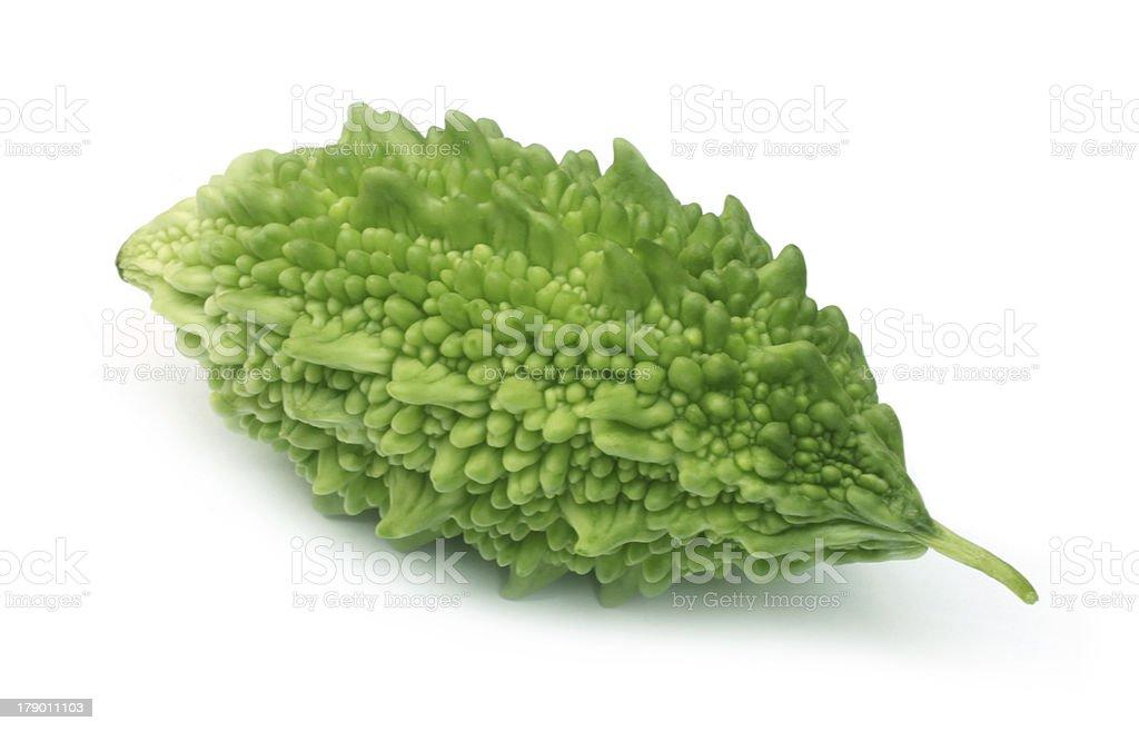 Green Momordica or karela royalty-free stock photo