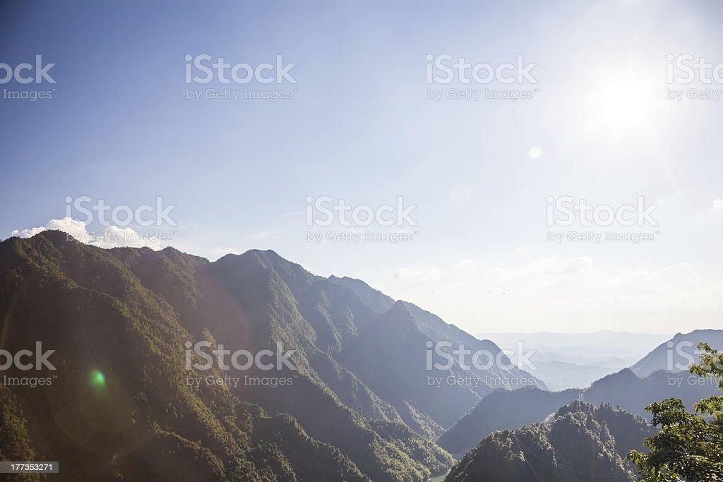 green mountain royalty-free stock photo