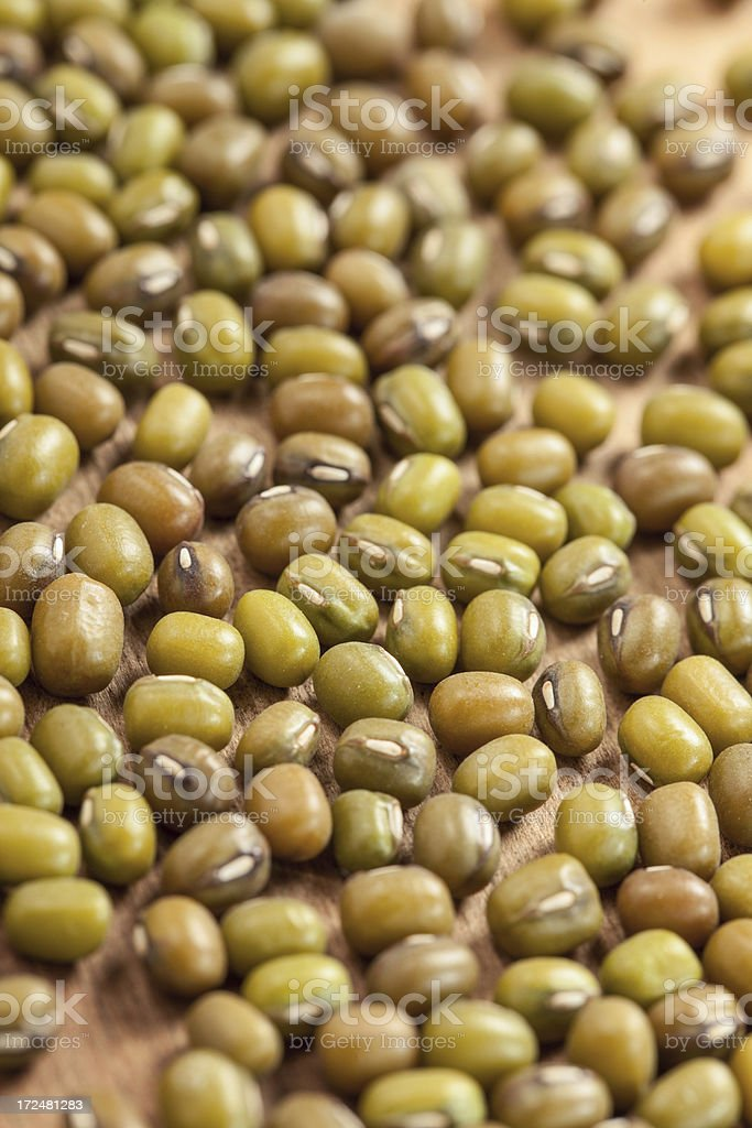 Green mung bean royalty-free stock photo