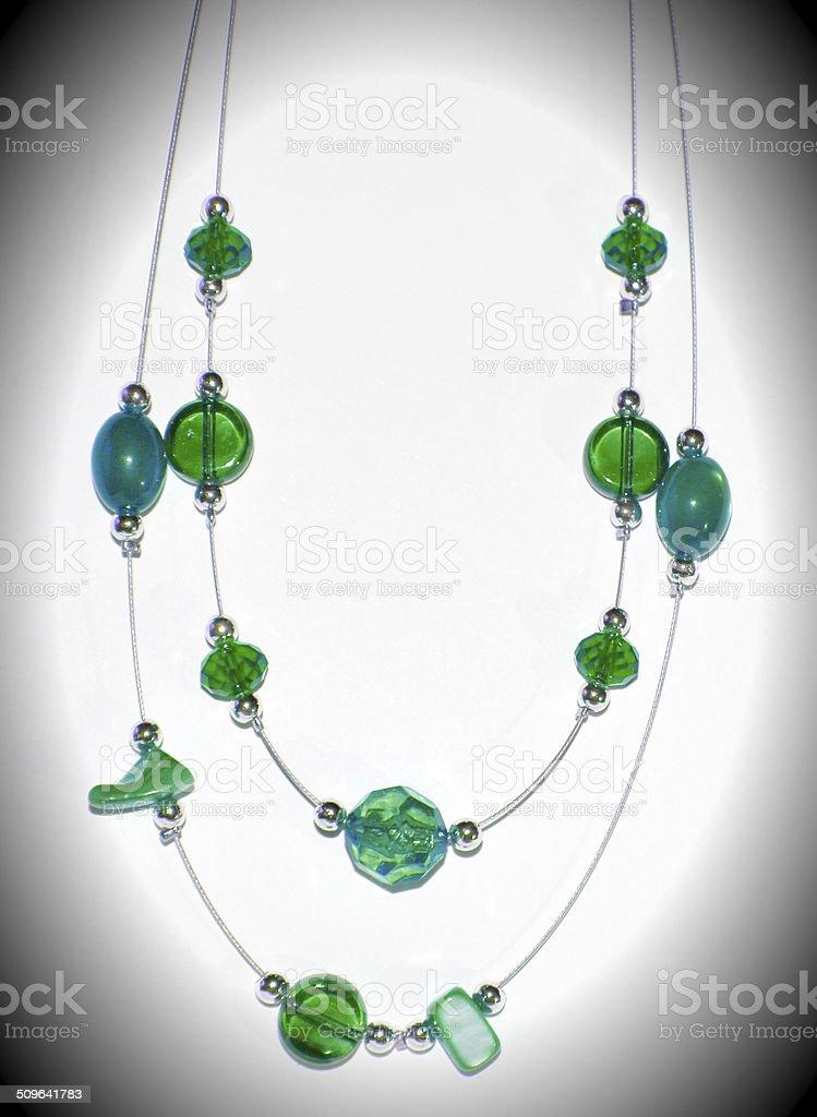 Vert collier photo libre de droits