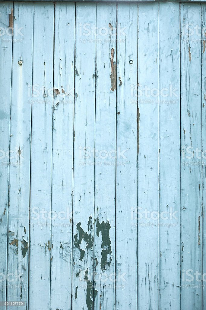 Green Old devastated wood wall royalty-free stock photo