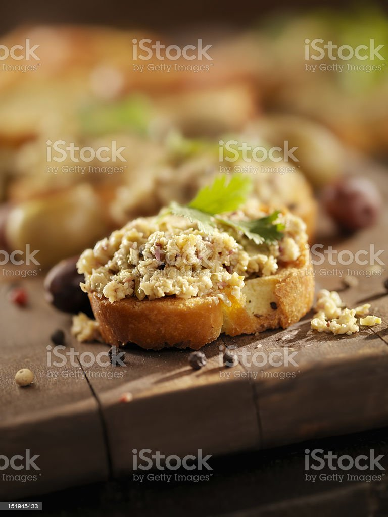 Green Olive Tapenade royalty-free stock photo