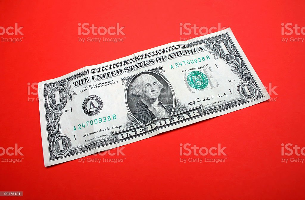 green on red royalty-free stock photo