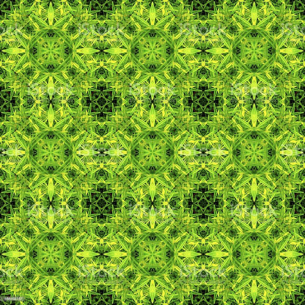 Green ornament pattern royalty-free stock photo