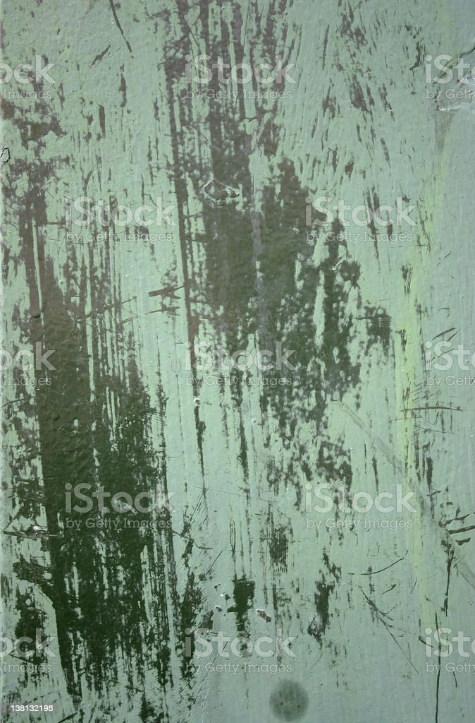Green paint grunge background royalty-free stock photo