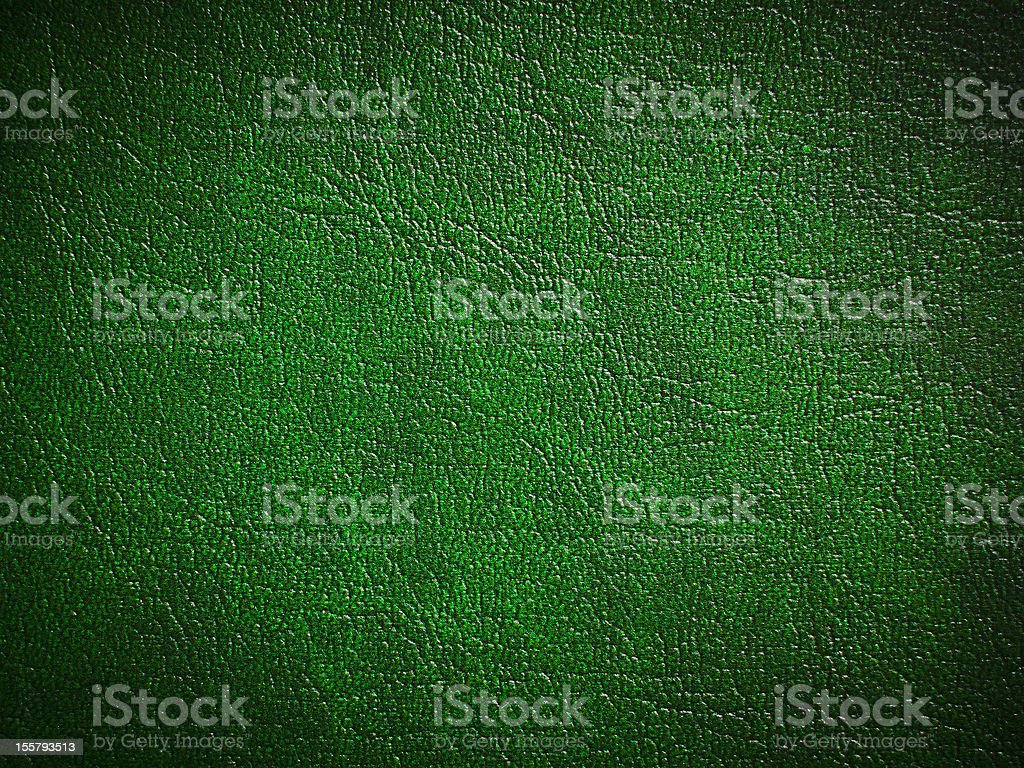 Green paint leather stock photo