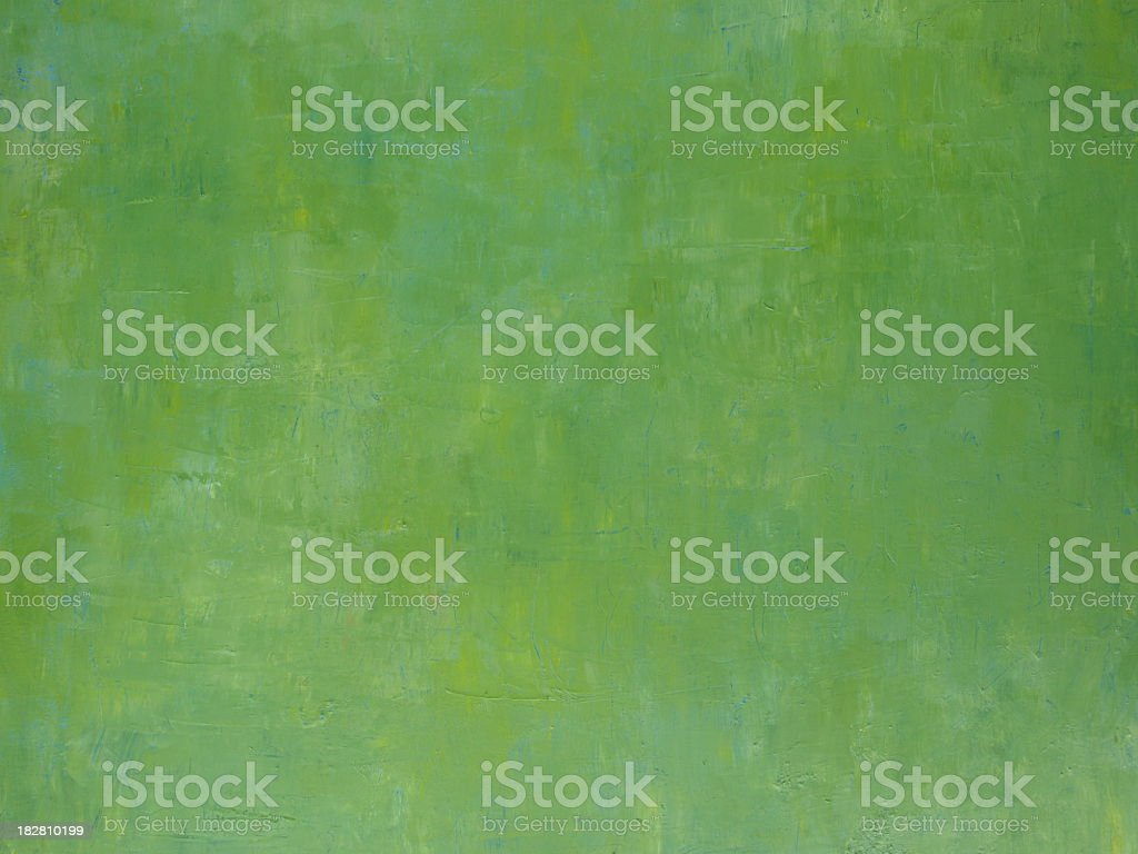 Green painted background vector art illustration