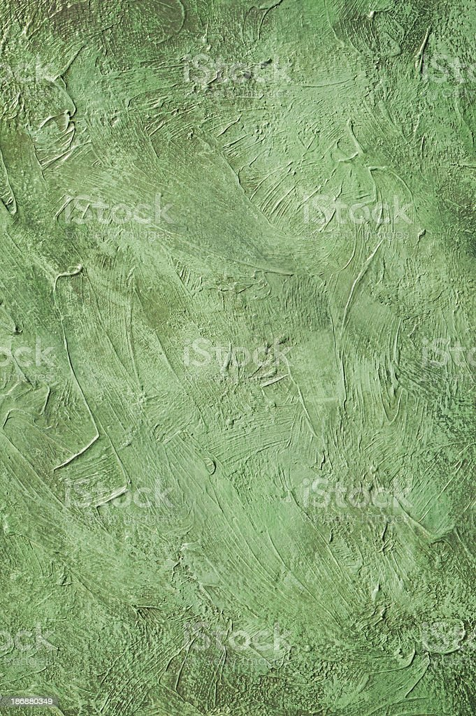 Green Painted Background stock photo