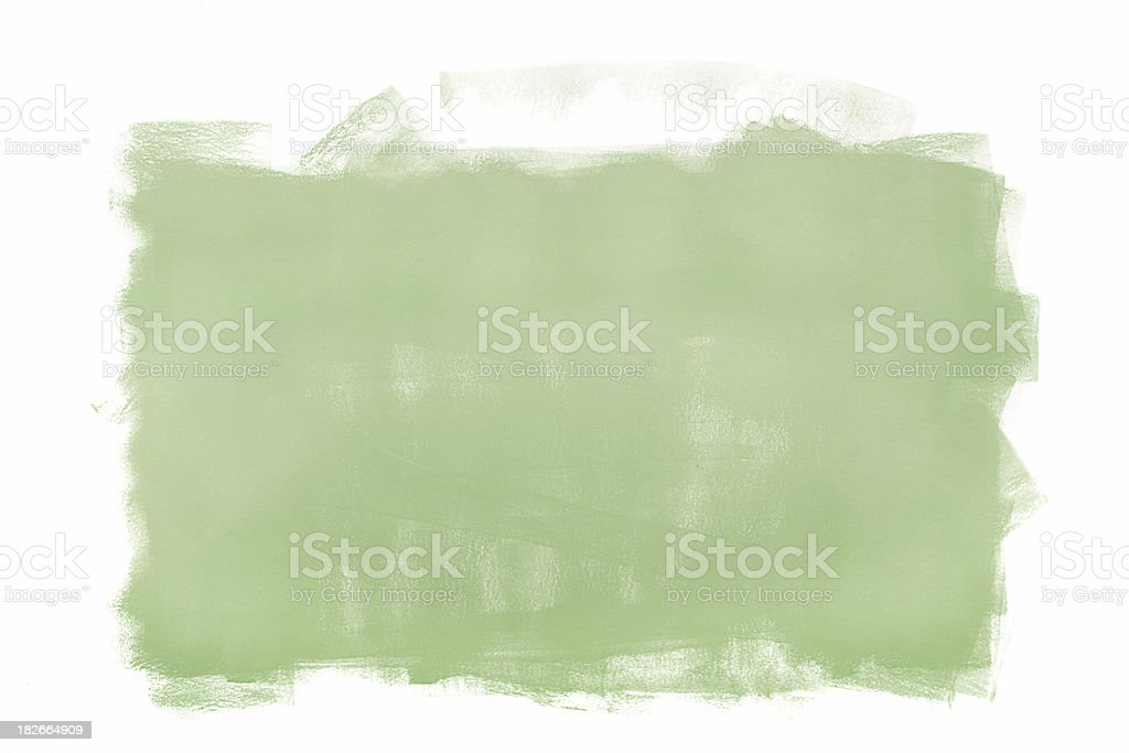 Green Painted Frame royalty-free stock photo