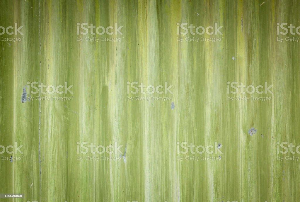 Green Painted Metal Door Texture royalty-free stock photo