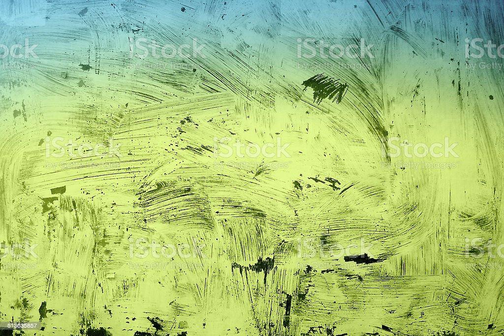 green painting grunge texture stock photo