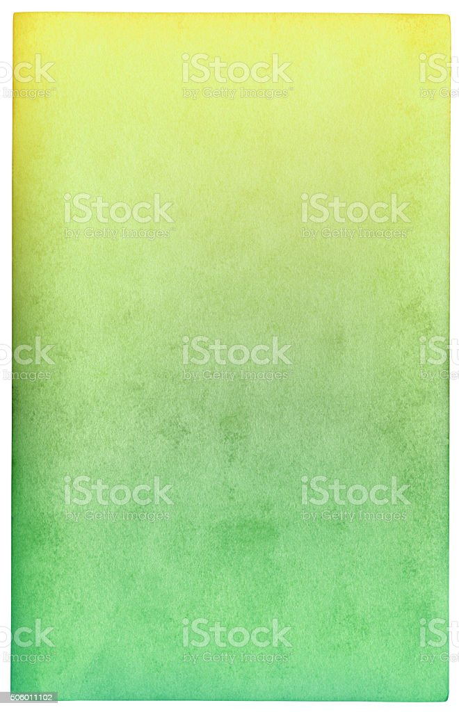 Green paper background (clipping path included) stock photo