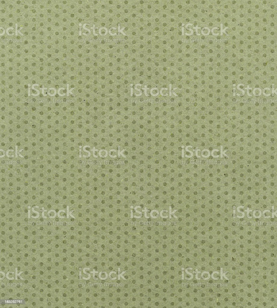 green paper with polka dots royalty-free stock photo