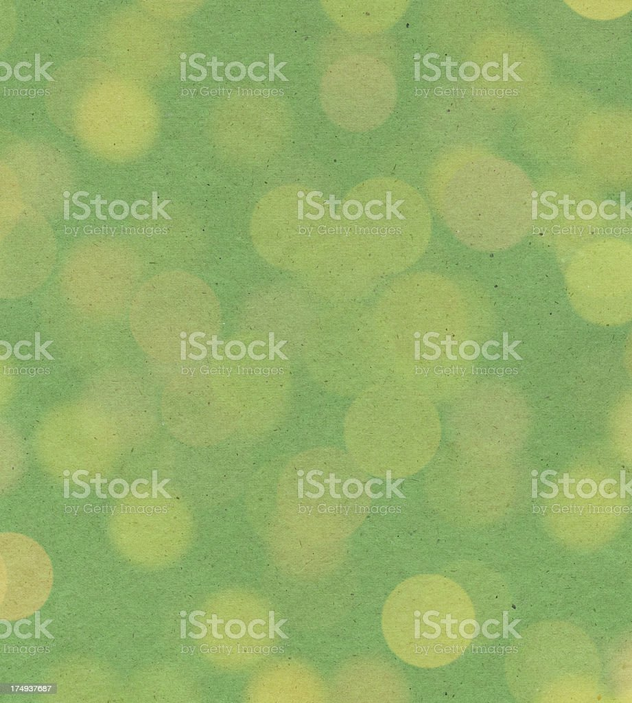 green paper with random large dots royalty-free stock photo