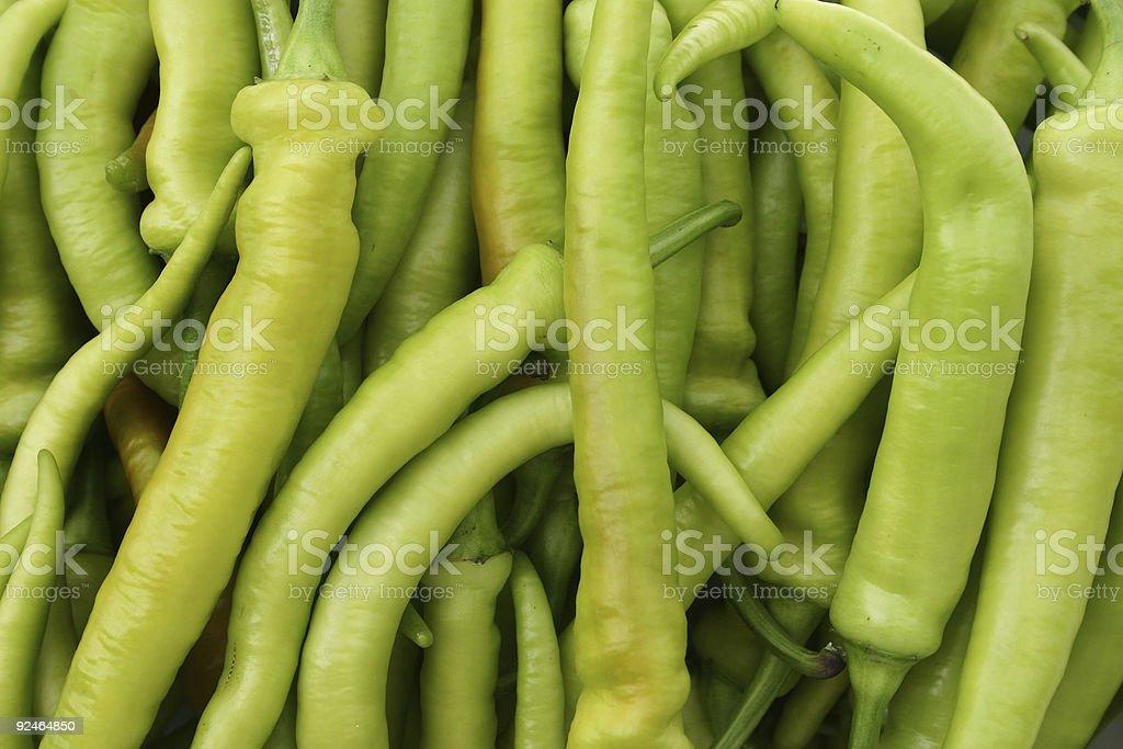 green paprikas - background stock photo