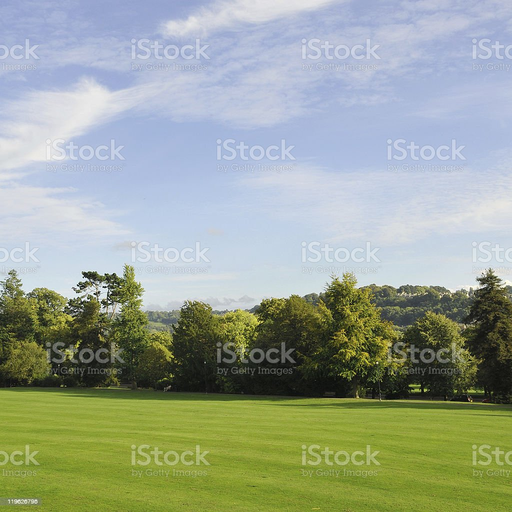 Green Park Landscape stock photo