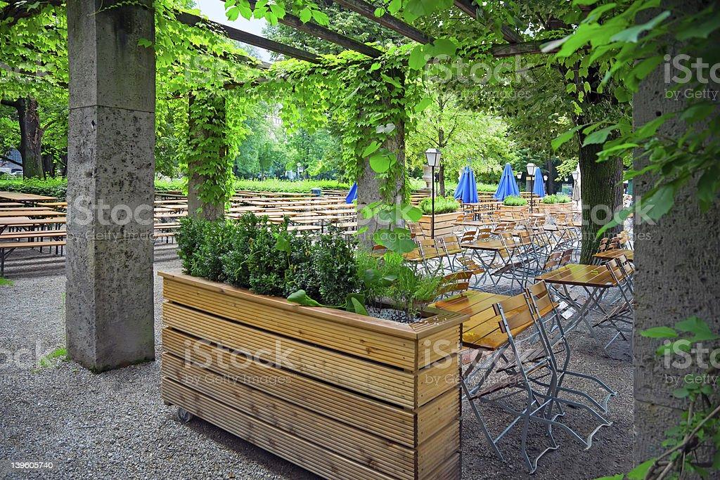 Green park Munich, Germany royalty-free stock photo