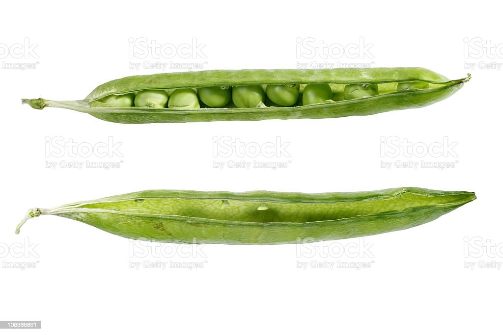 green pea royalty-free stock photo
