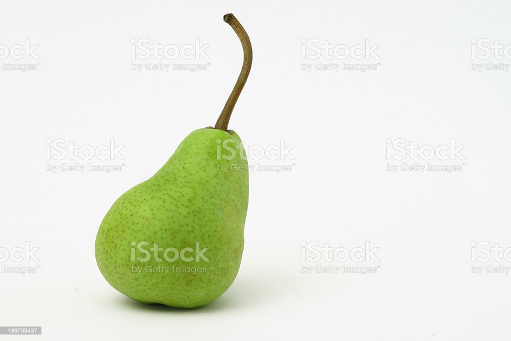 Green Pear royalty-free stock photo