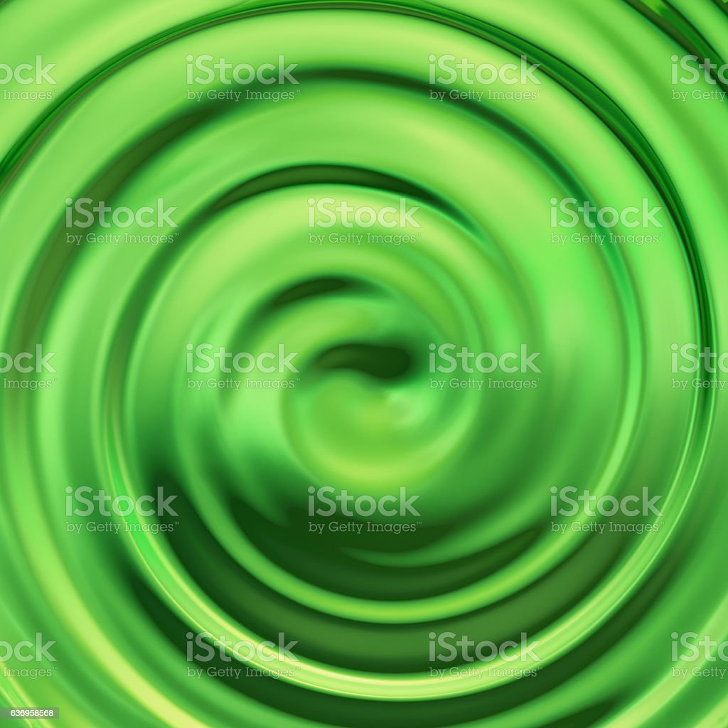Green Pear Swirl stock photo
