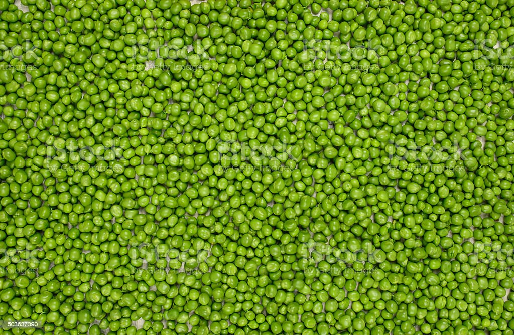 green peas background texture top view stock photo