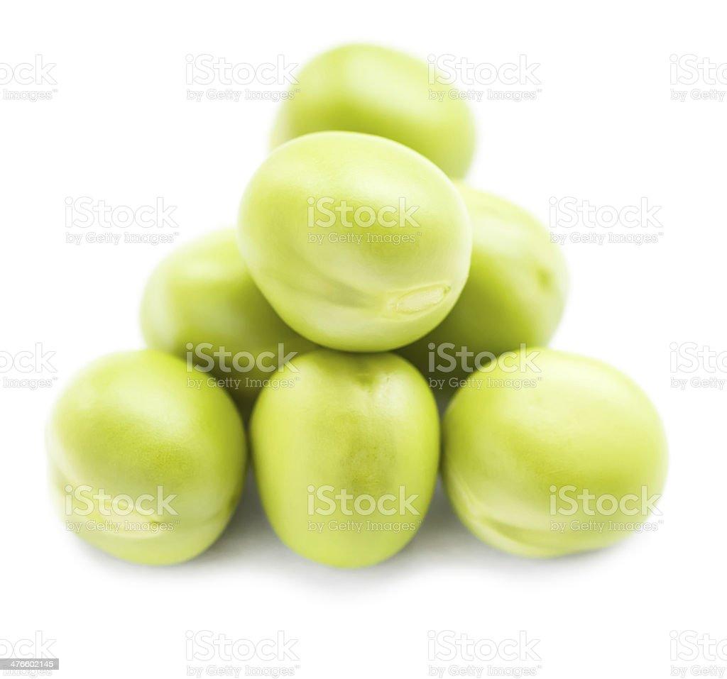 Green peas. royalty-free stock photo