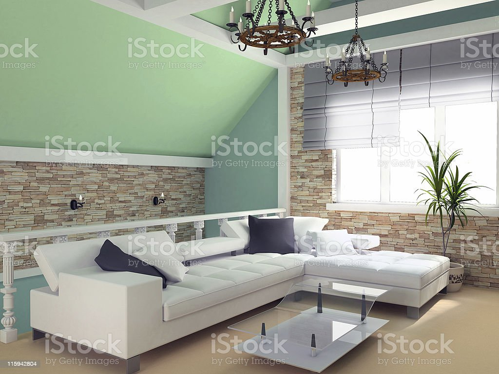 green penthouse royalty-free stock photo
