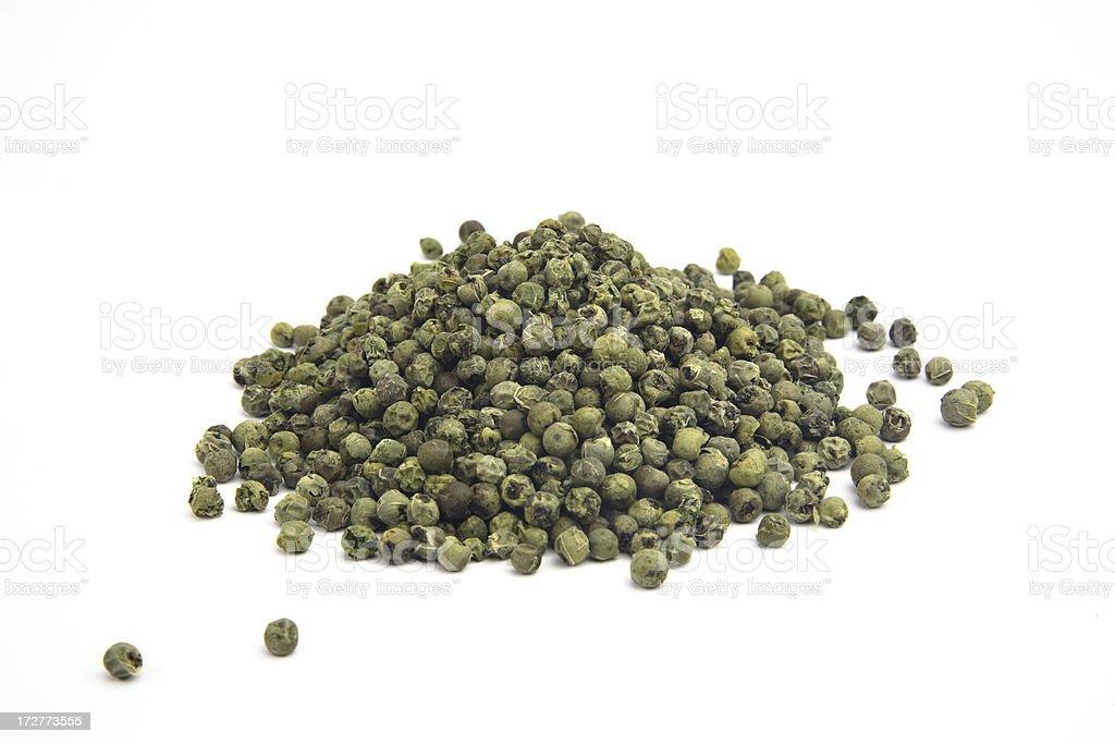 Green pepper. stock photo