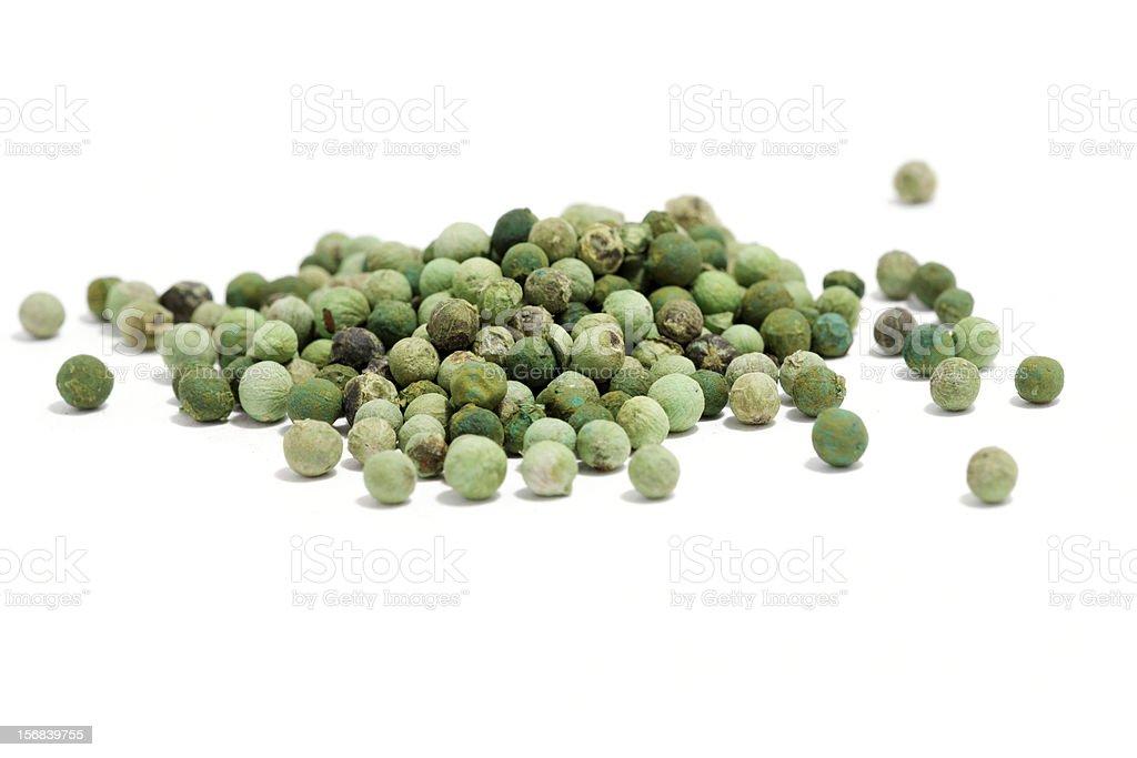 green peppercorn stock photo