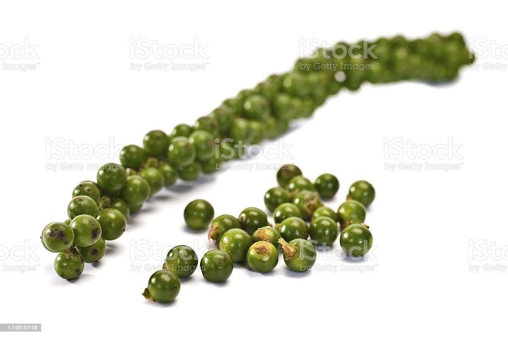 Green Peppercorns royalty-free stock photo