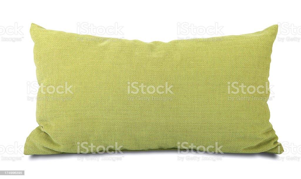 Green Pillow stock photo